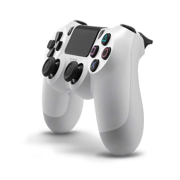 New PlayStation 4 DualShock 4 Wireless Controller - White - Packshot 2