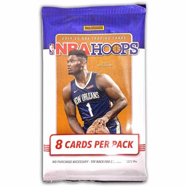 NBA - NBA Hoops 2019/20 Trading Card Booster Pack - Packshot 1