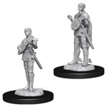 Dungeons & Dragons - Nolzur's Marvelous Miniatures - Female Half Elf Bard - Packshot 1
