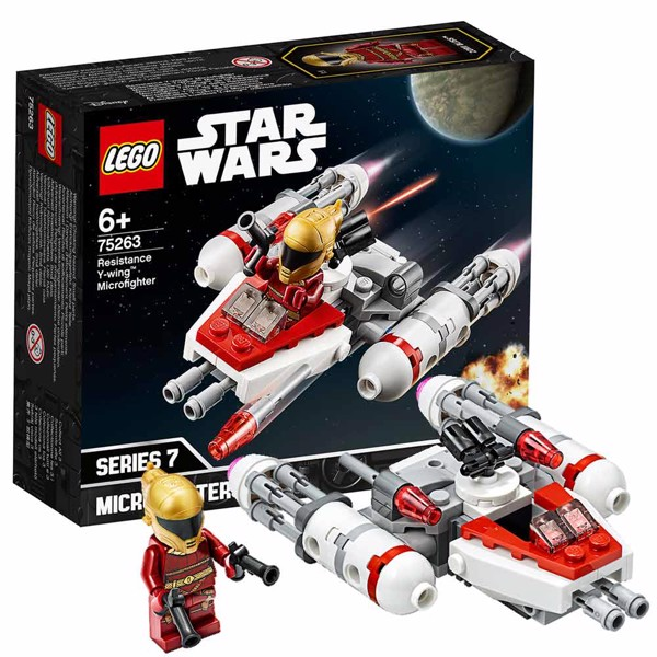Star Wars - LEGO Resistance Y-Wing Microfighter - Packshot 1