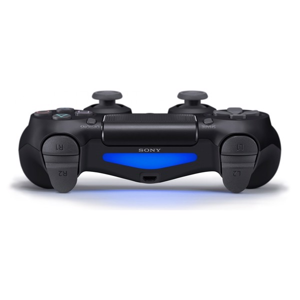 New PlayStation 4 DualShock 4 Wireless Controller - Black - Packshot 4