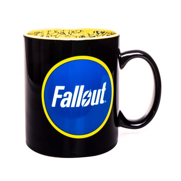 Fallout - Logo With Pip Boy Mug - Packshot 2