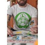 Nintendo - Super Mario Bros - Luigi Face T-Shirt - Packshot 6