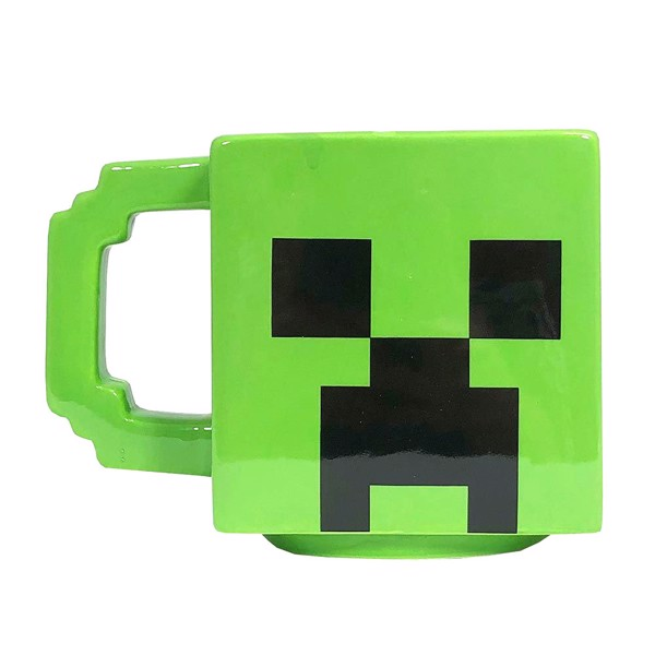 Minecraft - Creeper Sculptured Mug - Packshot 1