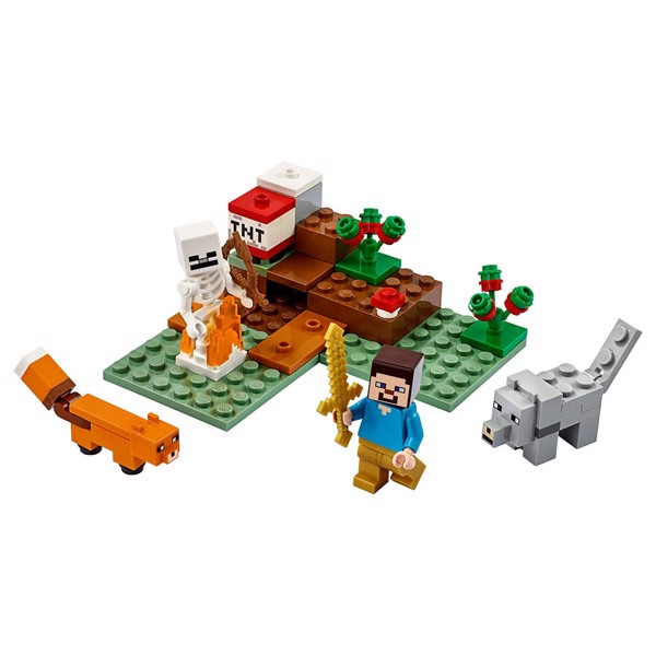 Minecraft - LEGO The Taiga Adventure - Packshot 2