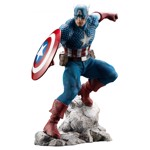 Marvel - Super Soldier Captain America ARTFX Premier series Statue - Packshot 1
