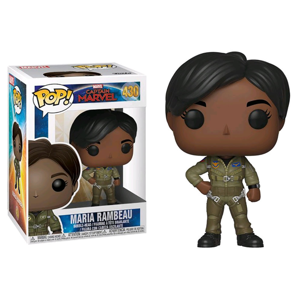 Marvel - Captain Marvel - Maria Rambeau Pop! Vinyl Figure - Packshot 1