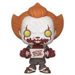 It: Chapter 2 - Pennywise with Skateboard Pop! Vinyl Figure - Packshot 1