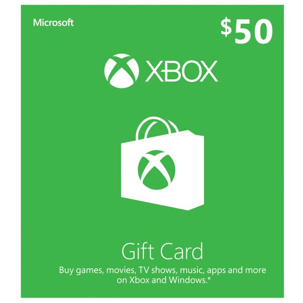 Xbox Gift Card $50 - Packshot 1