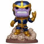 Marvel - Thanos Infinity Saga Metallic 80th Anniversary Deluxe Pop! Vinyl Figure - Packshot 1