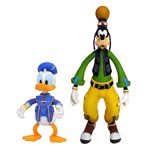 Kingdom Hearts - Donald & Goofy Action Figure - Packshot 1