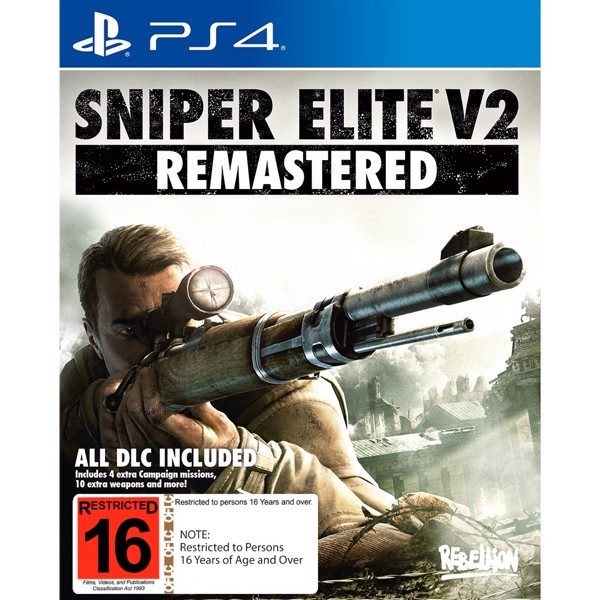 Sniper Elite V2 Remastered - Packshot 1