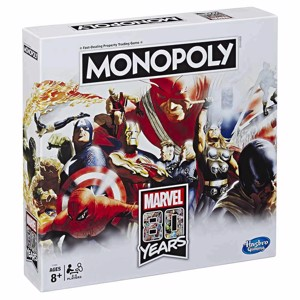 Marvel 80 Years Edition Monopoly Board Game