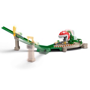 Mario Kart - Hot Wheels Piranha Plant Slide Track Set - Toys & Gadgets