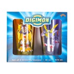 Digimon - Purple and Gold Glass 2 Pack - Packshot 2