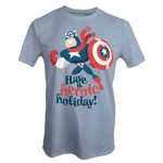 Marvel - Captain America - A Hero Holiday T-Shirt - L - Packshot 1