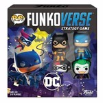 DC Comics - Gotham City Rumble Funkoverse Strategy Game 4-Pack - Packshot 1
