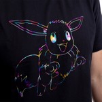 Pokemon - Eevee Hologram T-Shirt - S - Packshot 4