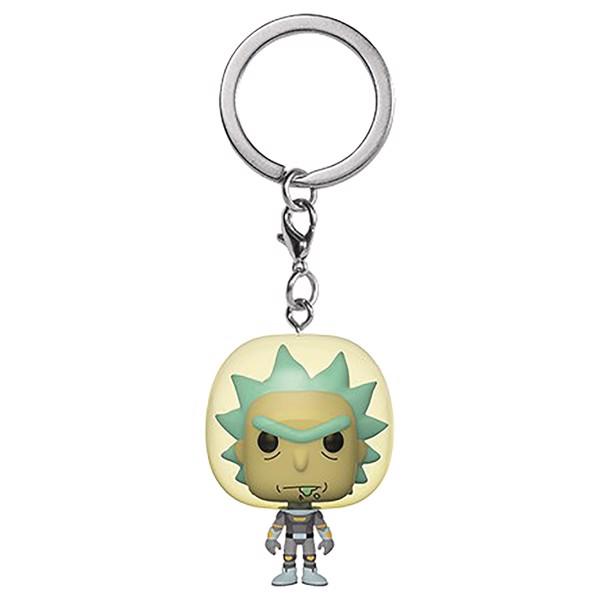 Rick and Morty - Rick Space Suit Pocket Pop! Keychain - Packshot 1