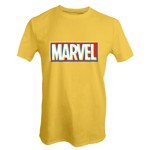 Marvel - Marvel Offset Logo Yellow T-Shirt - XS - Packshot 1