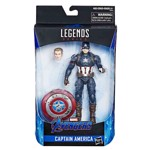 "Marvel - Avengers: Endgame - Captain America Hasbro Marvel Legends 6"" Action Figure - Packshot 2"