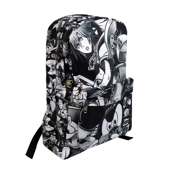 Kingdom Hearts - Black and White Loungefly Backpack - Packshot 2