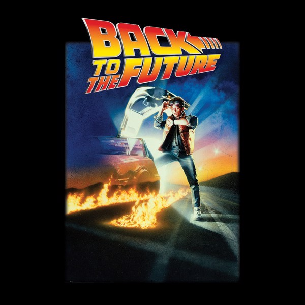 Universal - Back To The Future Poster T-Shirt - XS - Packshot 2