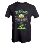 Rick and Morty - Spaceship T-Shirt - Packshot 1