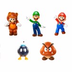 "Nintendo - Super Mario Articulated 2"" Figure (Assorted) - Packshot 1"