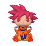 Dragon Ball Z - Super Saiyan God Goku With flames SDCC 2020 Pop! Vinyl Figure - Packshot 1