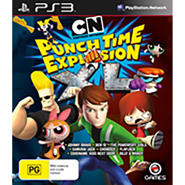 Cartoon Network: Punch Time Explosion XL - Packshot 1