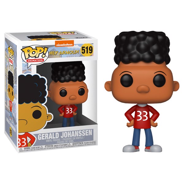 Hey Arnold - Gerald Johanssen Pop! Vinyl Figure - Packshot 1