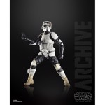 Star Wars - Return of the Jedi Black Series Archives Wave 2 Scout Trooper Action Figure - Packshot 2