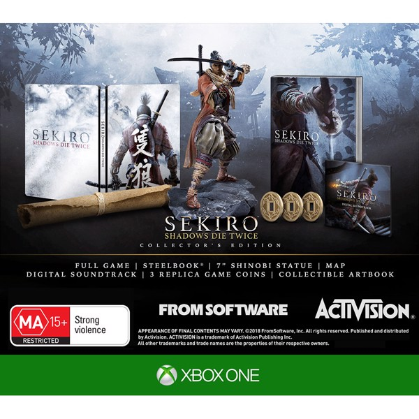 Sekiro: Shadows Die Twice Collector's Edition - Packshot 2