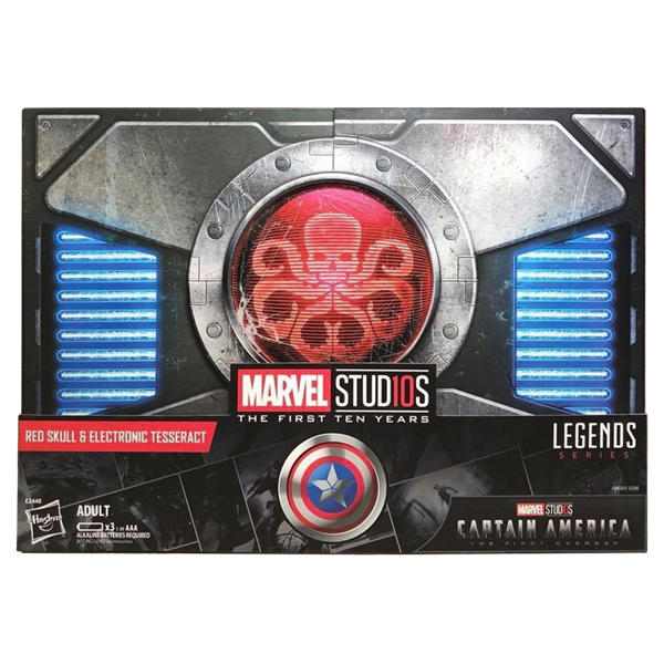 Marvel - MCU 10th Anniversary SDCC 2018 Tesseract & Red Skull Legends Figure Set - Packshot 1