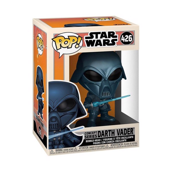Star Wars - Darth Vader Concept Pop! Vinyl Figure - Packshot 2