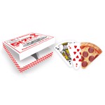 Pizza Slice Cut-Out Playing Cards - Packshot 1