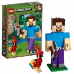 Minecraft - LEGO Steve BigFig with Parrot - Packshot 1