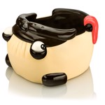Pug Snack Moulded Bowl - Packshot 2