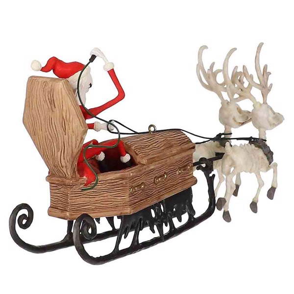 Disney - The Nightmare Before Christmas - Sleigh and Reindeer Keepsake Hanging Decoration - Packshot 2