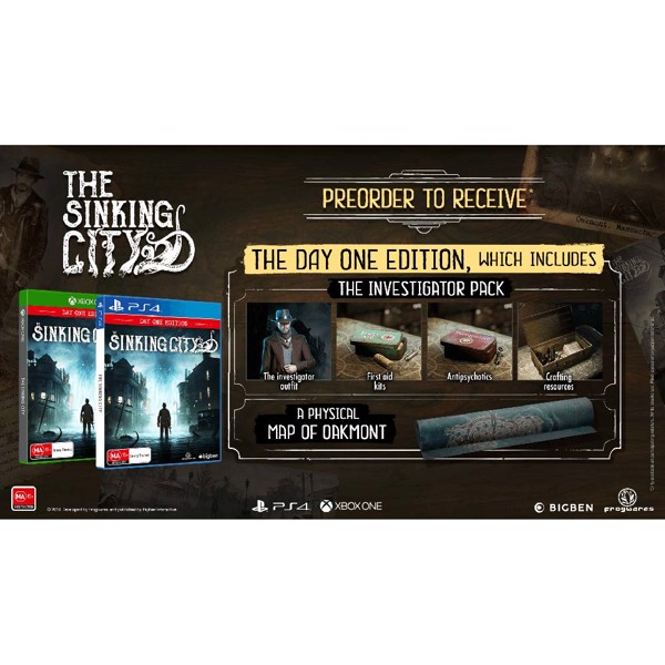 The Sinking City - Packshot 2