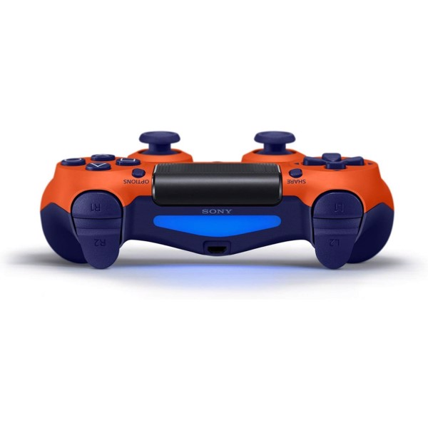 New PlayStation 4 DualShock 4 Wireless Controller - Sunset Orange - Packshot 4