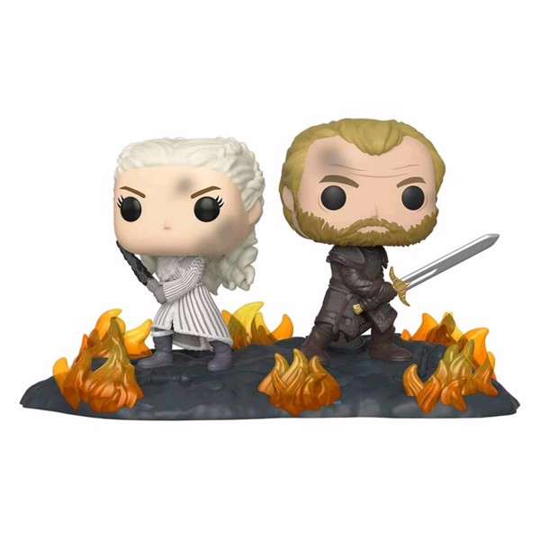 Game of Thrones - Daenerys & Jorah Back to Back Pop! Movie Moment - Packshot 1