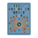 Harry Potter - Quidditch World Cup Tin Sign - Packshot 1