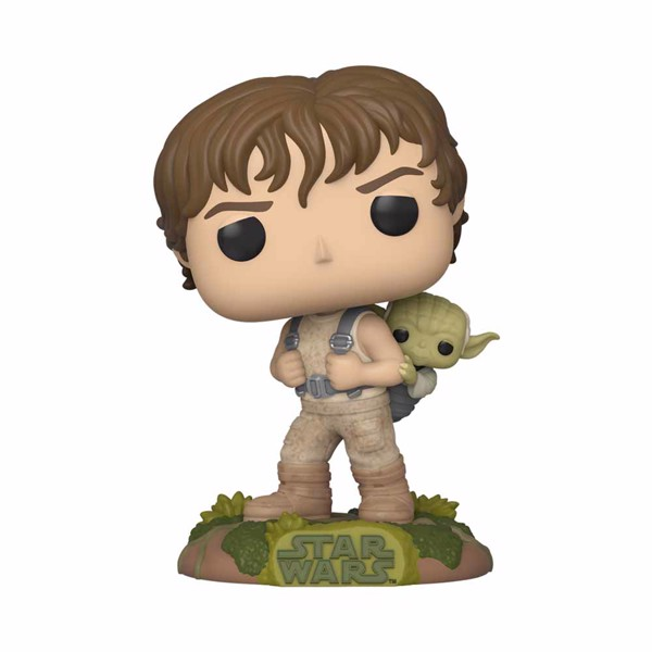 Star Wars - Luke training with Yoda Pop! Vinyl Figure - Packshot 1