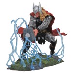 "Marvel - Thor With Mjolnir 8"" Diorama Statue - Packshot 1"