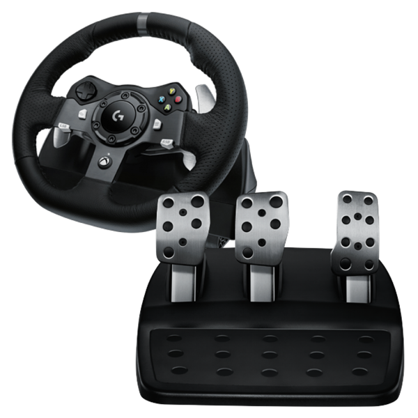 Logitech G920 Driving Force Racing Wheel - Packshot 1