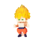 Dragon Ball Z - Goku Super Saiyan Nanoblocks Figure - Packshot 1