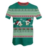 Disney - Mickey and Minnie Christmas T-Shirt - Packshot 1