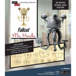 Fallout - Mr Handy 3D Wood Model And Poster - Packshot 2